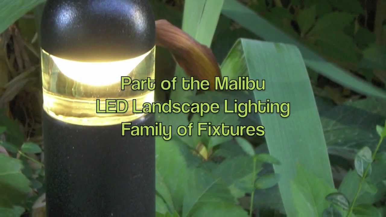 malibu led path light for landscape lighting youtube