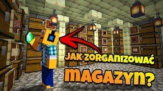 """Minecraft #390 -  """"PORZĄDEK W NOWYM MAGAZYNIE!"""""""
