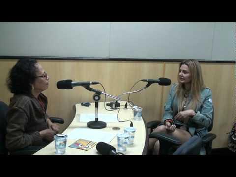 Sandrinha Sargentelli fala do tio Oswaldo Sargentelli  na Radio Record.
