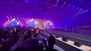 Saad Lamjarred feat. Muhammad Ramadan / Ensay (LiVE in Dubai 2020)