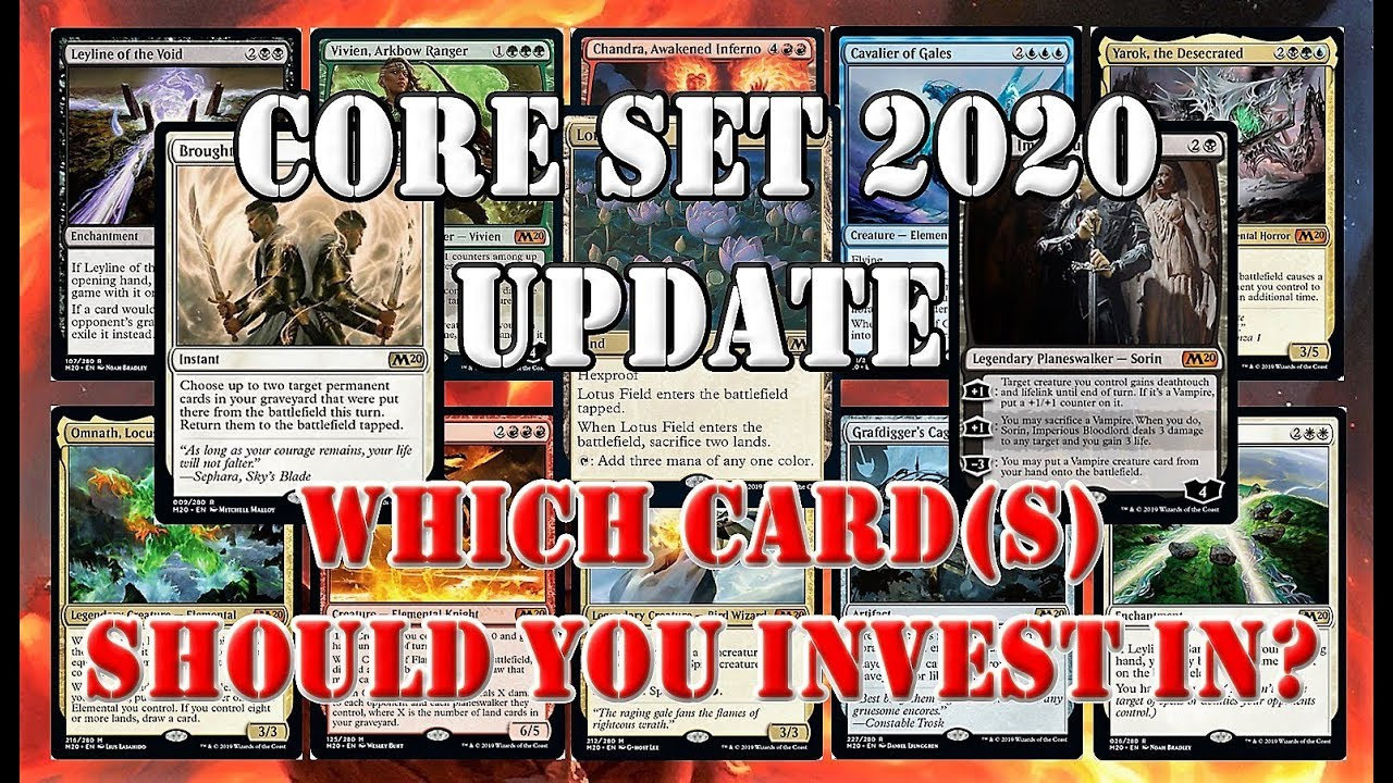 Mtg Banned List 2020.Top 25 Core Set 2020 Cards Mtg Price Guide