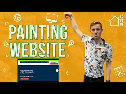Website Comparison: The RIGHT Way To Design A Painting Website