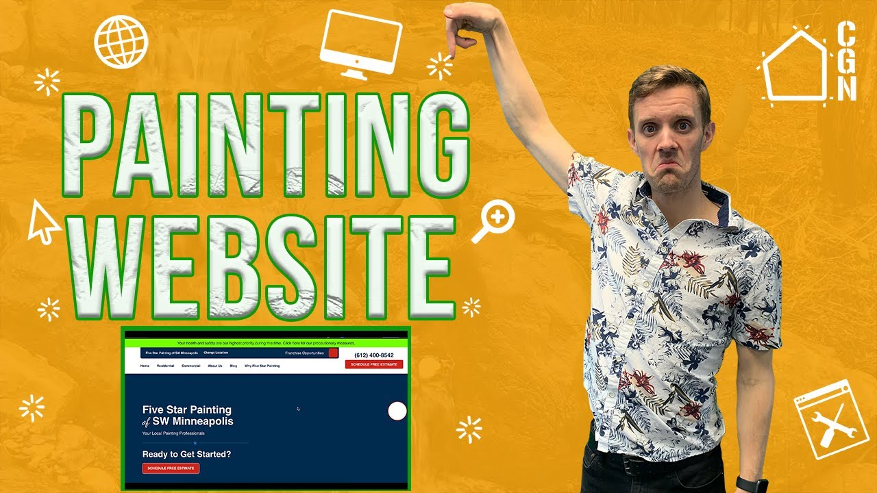 Website Comparasion: The RIGHT Way To Design A Painting Website