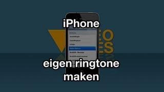 Eigen ringtone maken (VideoBytes - iPhone)