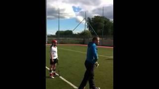 Noel McGrath Coaching Camogie St Brigids GAA