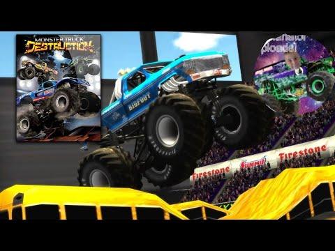 Let's play mtd (monster truck destruction) |