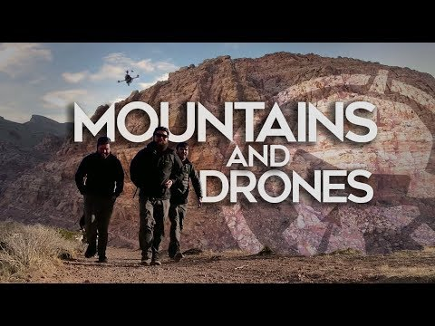 Mountains & Drones - Flying high and far!