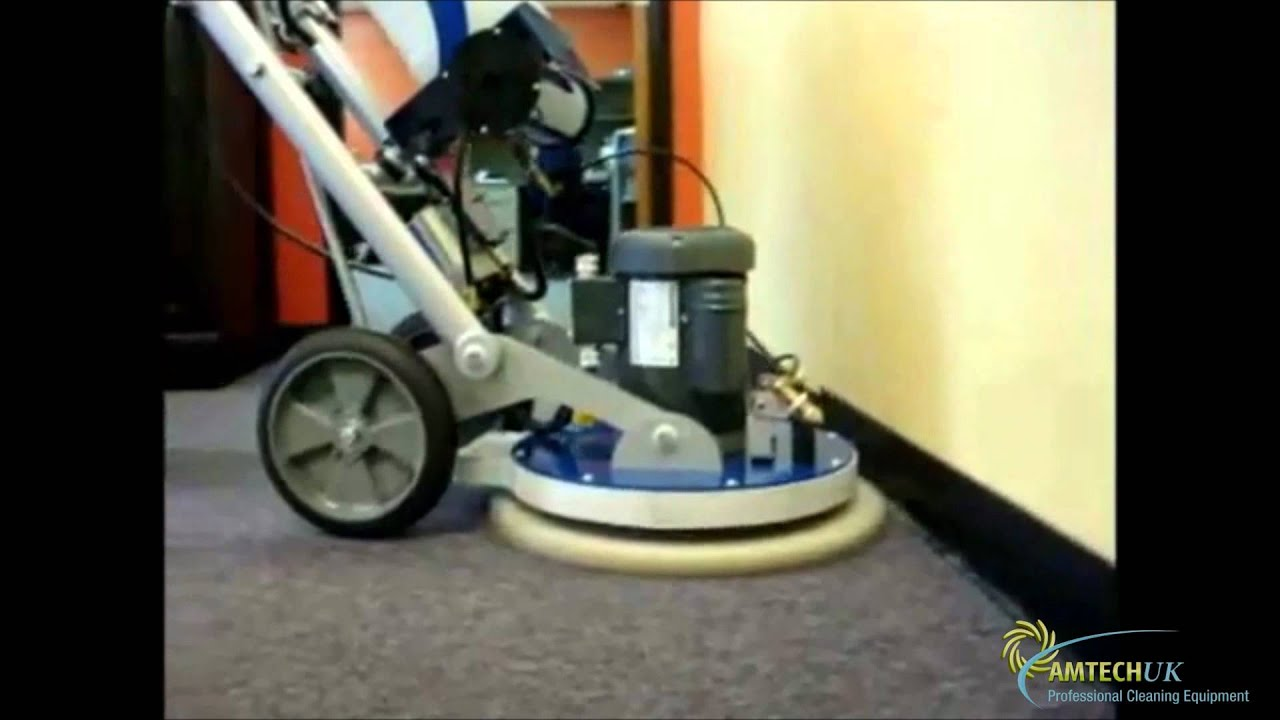 The hos orbot floor cleaning machine youtube for Floor cleaning machine