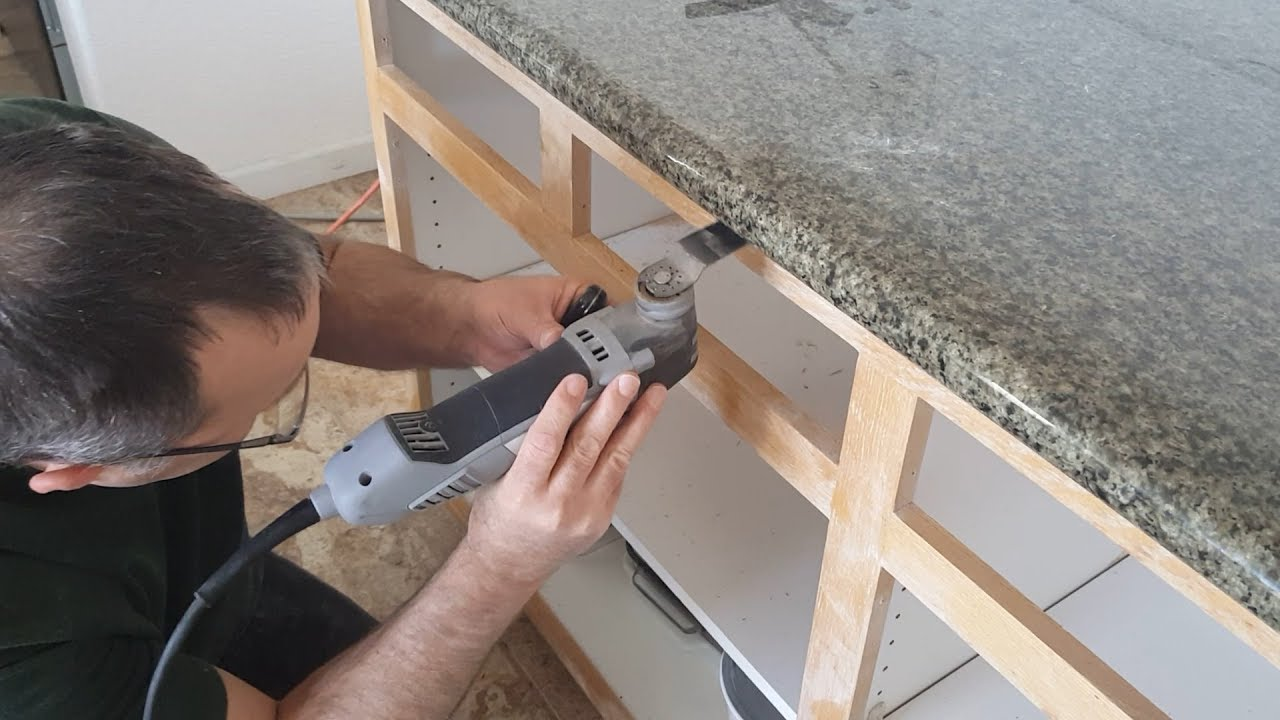 How To Remove Granite Countertops Without Breaking The Granite Youtube