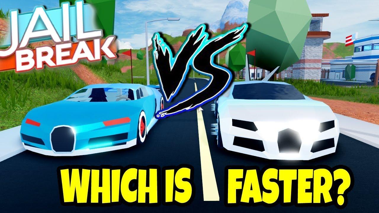 Which Is Faster Bugatti Chiron Vs Bugatti Roblox Jailbreak