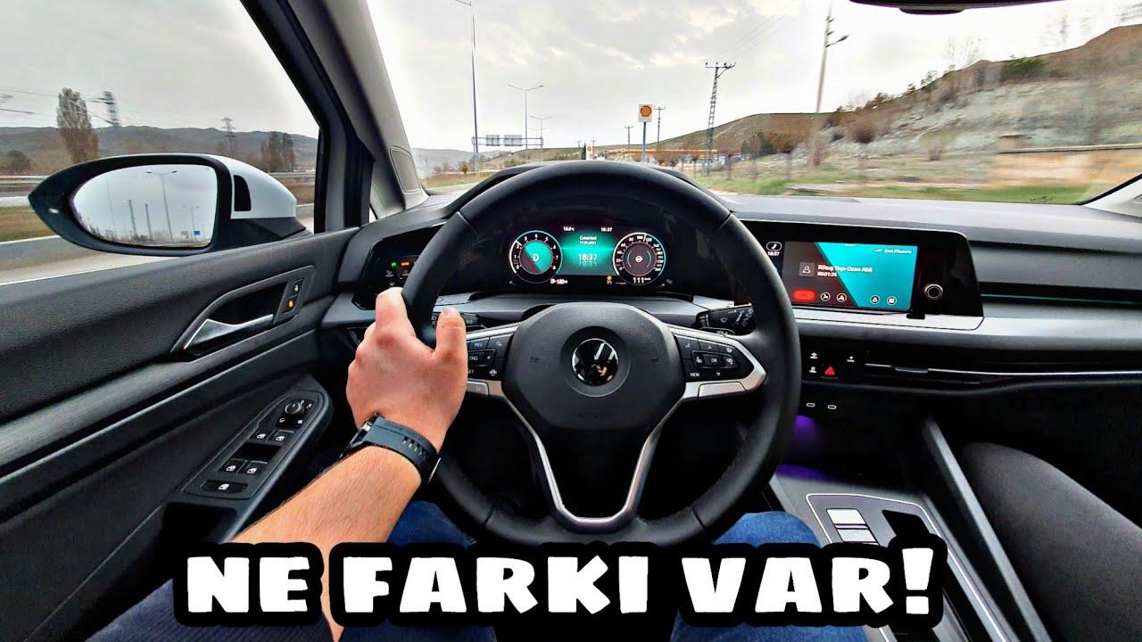 Yol Tutuşu Nasıl? | 2021 | Golf 8 | Otomobil Günlüklerim