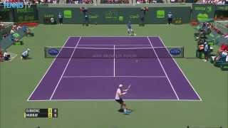 Andy Murray Hot Shot Triple Treat Miami Open Final 2015
