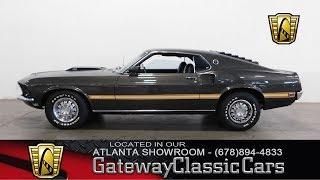 1969 Ford Mustang  -  Atlanta Showroom - Stock # 807