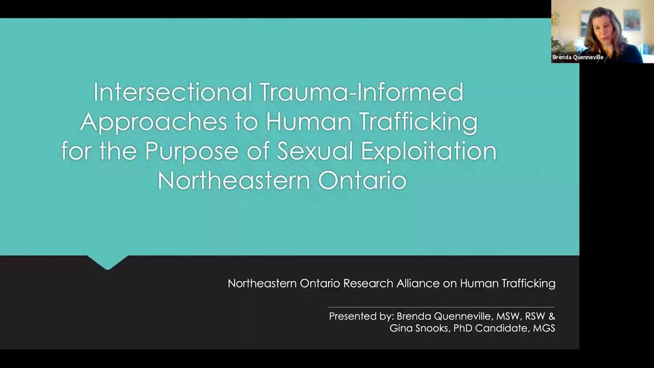 Northeastern Ontario Research Alliance on Human Trafficking (NORAHT)