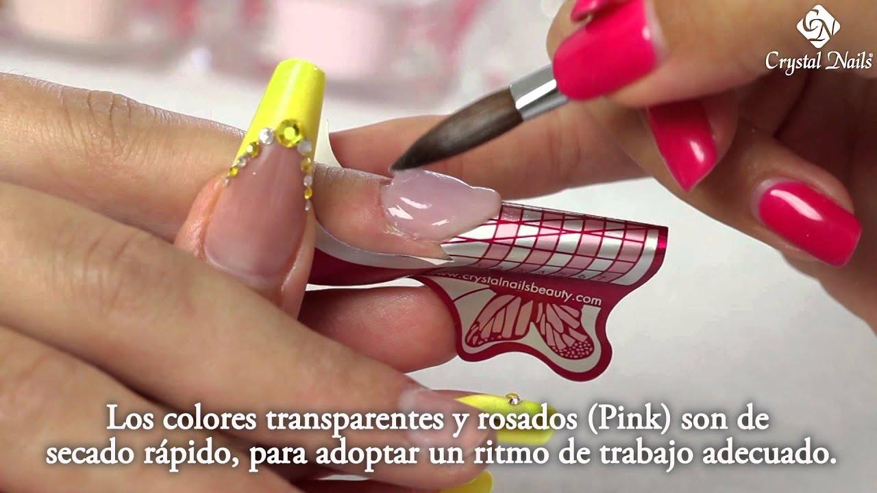 crystal nails se