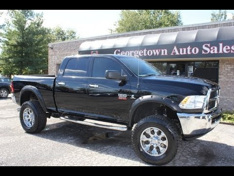 Used Trucks For Sale In Ky >> SOLD Used 2012 Lifted Ram 2500 SLT Cummins Diesel lift kit Georgetown KY Kentucky for sale - YouTube