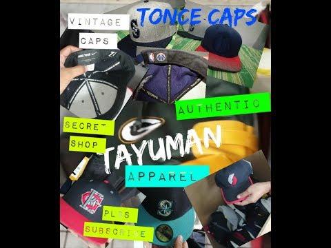 TAYUMAN VINTAGE CAP, MLB,NFL,NEW ERA,NIKE,