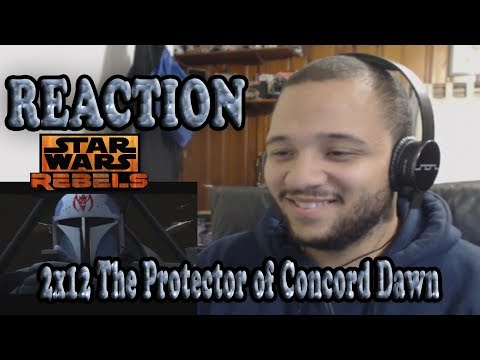 Star Wars Rebels Reaction Series Season 2 Episode 12 - The Protector of Concord Dawn