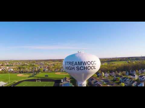 Streamwood High School By Drone