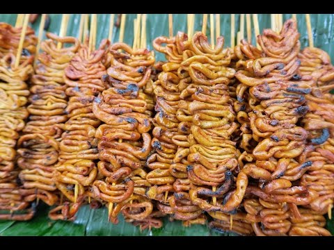 Philippines Street Food in SM Mall of Asia | Best Place to Eat STREET FOOD in Pasay