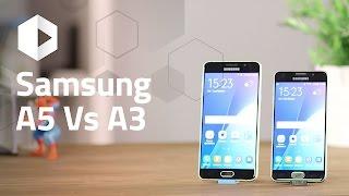 samsung galaxy a5 vs a3 2016 review en espaol