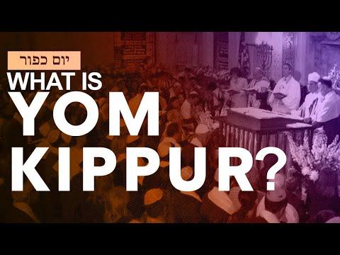 What is Yom Kippur? The Jewish High Holiday