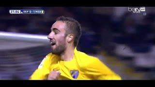 Video Gol Pertandingan Deportivo La Coruna vs Malaga