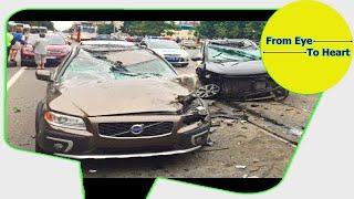 Car Crash) very Shock dash camera 2018 NEW By Top Speed Motor HD (1227) HD