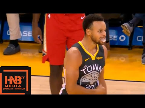 Golden State Warriors vs New Orleans Pelicans 1st Half Highlights   10.31.2018, NBA Season