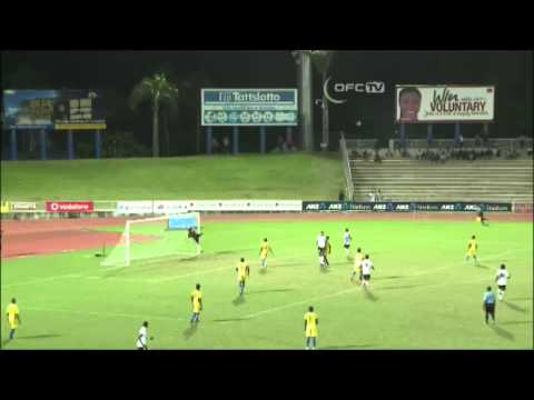 2014 OFC U-20 Championship / MD5 / Fiji vs Solomon Islands Highlights