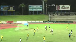 2014 OFC U-20 Championship / MD5 / Fiji vs Solomon Islands Highlights