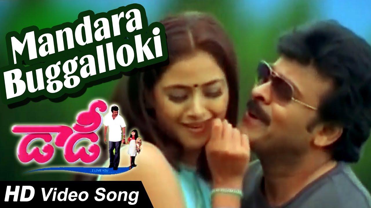 mandara buggalloki full video song daddy chiranjeevi
