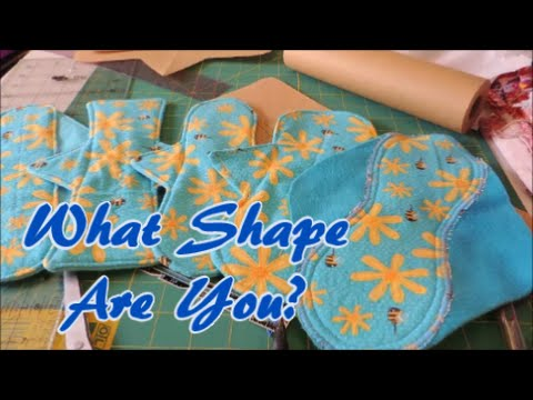 Creating Your Own Cloth Pad Pattern YouTube Adorable Cloth Pad Pattern