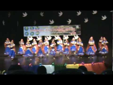 OP.Jindal School  annual fuction dance