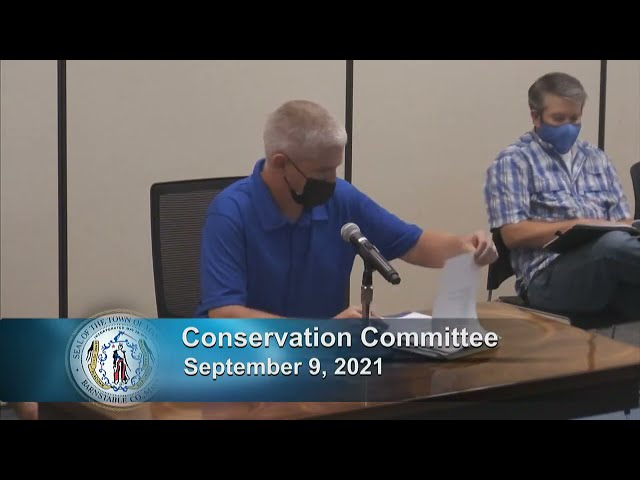 Conservation Commission 9-9-21