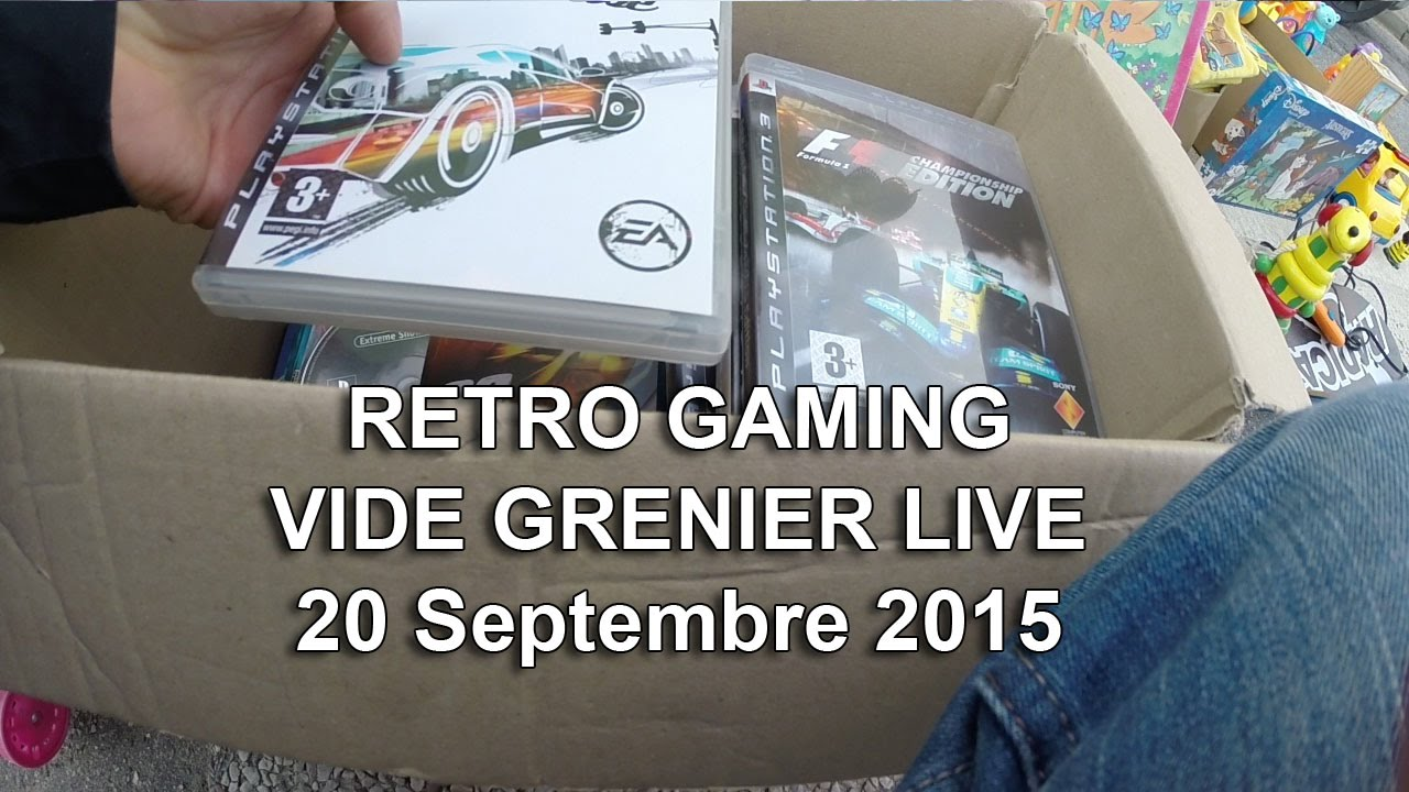 Retro gaming vide grenier live 20 09 2015 youtube - Vide grenier 77 2015 ...