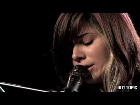 Hot Sessions: Christina Perri Jar Of Hearts