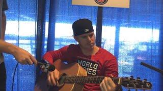 CFBBQ: Brock Holt shows Jake Mintz his guitar skills