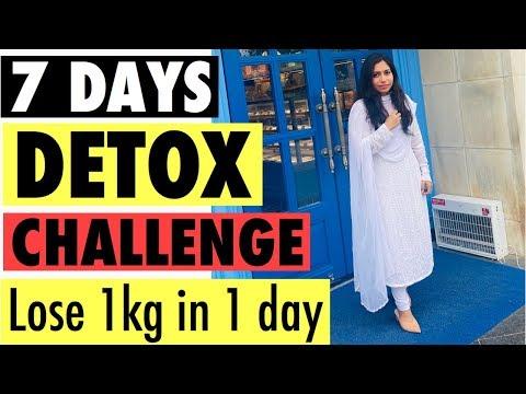 7-days-detox-diet-challenge- -lose-1-kg-in-1-day-detox-diet- -azra-khan-fitness