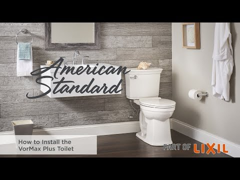 How To Install The VorMax Plus Toilet