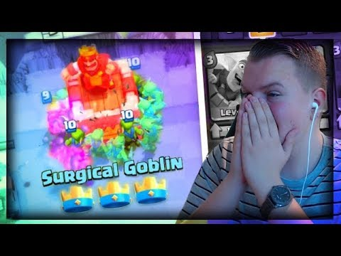 CAN WE GET 3 CROWNS?! Mirror Goblin Barrel Deck LIVE  in Grand Challenge! - Clash Royale