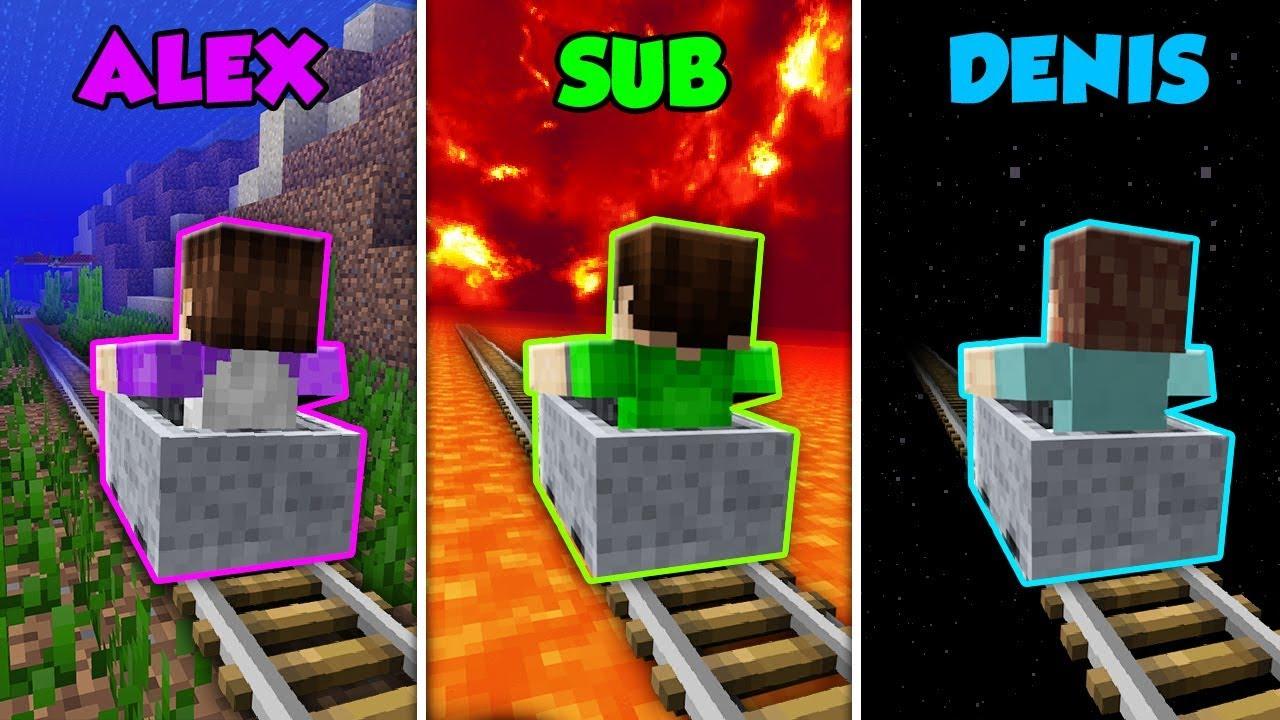 alex-vs-sub-vs-denis-minecart-adventure-in-minecraft-the-pals