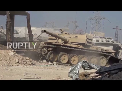 Syria: SAA gains control Al-Qaboun neighbourhood, Damascus