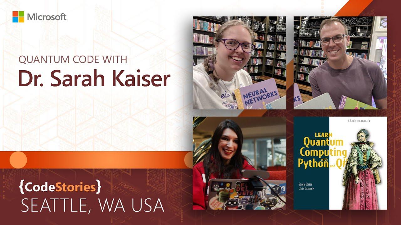 Quantum Code with Dr. Sarah Kaiser