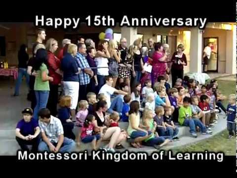 15th Anniversary Montessori Kingdom of Learning