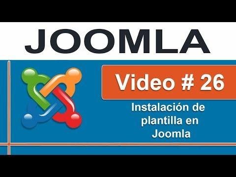 Instalación de plantilla en Joomla