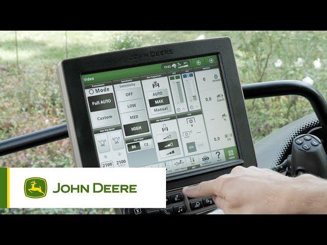Traktor-Optimierung Getriebe- und Motoreinstellungen