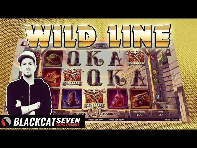 DEAD OR ALIVE 2 (NETENT) - WILD LINE MEGA WIN!