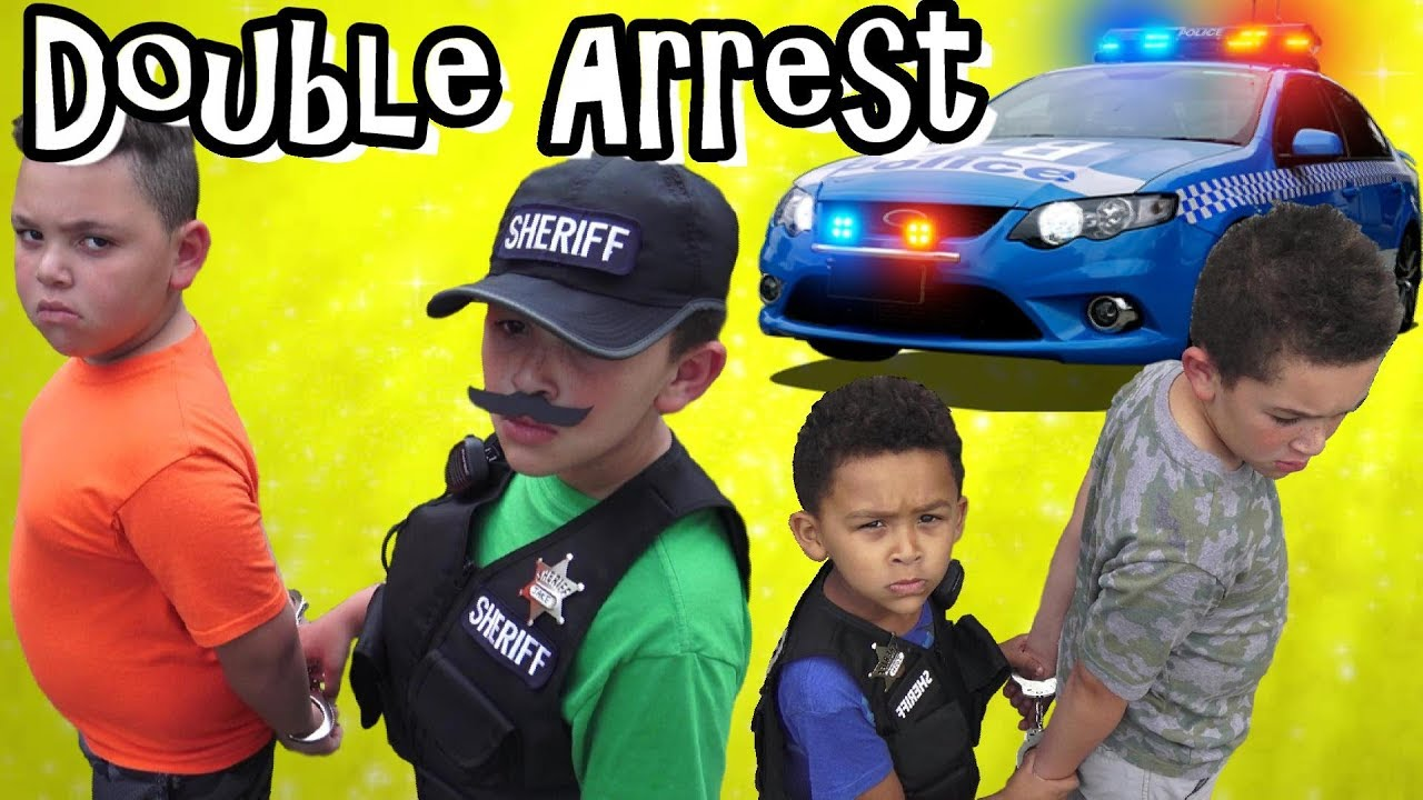 Download KID ESCAPES ARREST! SUSPECT in COP CAR FREED by PARTNER IN CRIME!