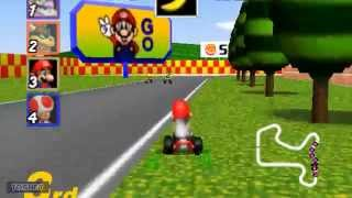 Mario Kart 64 Gameplay (PC HD)